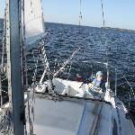 Sailing near Oriental