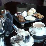 Not cheap but worth it...afternoon tea at The Torridon..one of life's lovely places....