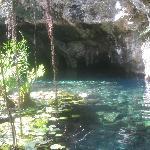 Grand Cenote 10 minute drive