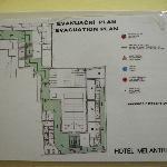 План этажа и ресепшн