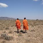 Lopen als/met de Masai