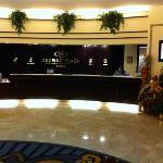 lobby check in