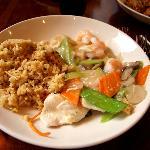 Moo Goo Gai Pan, very mild sauce