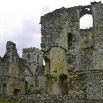 A Cotswold manor ruin.