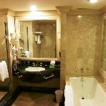 Bathroom (in a room on 29th floor)