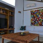Area acondicionada con DVD, DirecTV, aire acondicionado