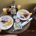 Desayuno a la habitacion!