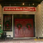 Entrance to the distillery.