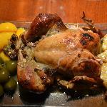 El pavo de la cena de Thanksgiving yummy!