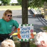 Tours begin with a little Florida Citrus Trivia