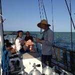 Sailing back to Cairns