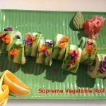 Supreme Vegetable Roll(New Roll)