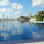 View of the largest pool