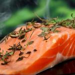 Filetto di salmone alle erbe fini
