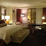 newly renovated strip view room