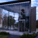 Entrance to Bowdoin College Museum of Art
