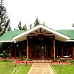 Function hall at the side of the lodge
