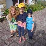 jeanette and the kids
