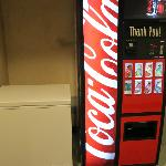 Soda machine and ice for our floor.