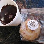 Hot Chocolate and macaroon