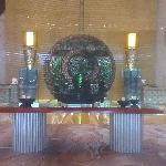 A Large Sculpture in Reception area