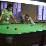 Indoor snooker
