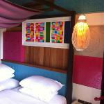 colourful bedrooms!