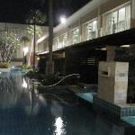 pool to the room