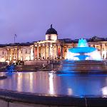 National Gallery, Trafalgar Square - from the Night Photography workshop