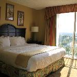 Schlafzimmer mit Traumbett