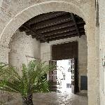 La corte interna del Palazzo Storico dove si trova il b&b