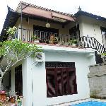 La villa de 6 pers sur 2 étages