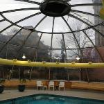 dome over pool