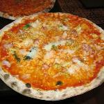 Pizza fresco salsica