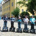 Gruppenfoto auf dem Augustinerplatz