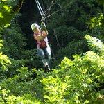 Zip Line Canopy at CHUKKA