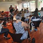 Orchestra rehearsal in our Tango Studio