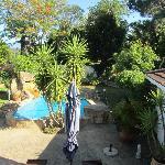 Poolbereich im Garten