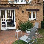 Chambre avec terrasse privé