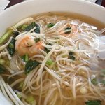 pho soup with shrimp