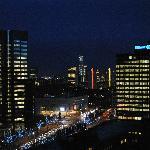 Skyline dal balcone