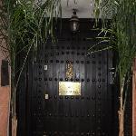 RIAD MONCEAU FRONT DOOR