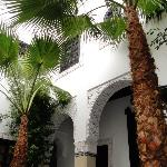 RIAD MONCEAU CENTRAL COURTYARD