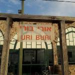 Uri Buri's entrance