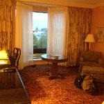 A view of the room
