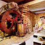 Tyrolean Stone pine sauna at the Wellnesshotel Bergland