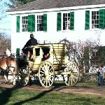 Take a ride in the stagecoach