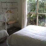 Clean fresh bedrooms with white linen