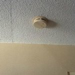 Dislodged & beeping smoke detector
