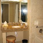 Handicapped Accessible bath, Room 1314 I think it was